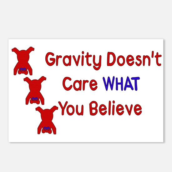 Gravity Doesn't Care Postcards (Package of 8)