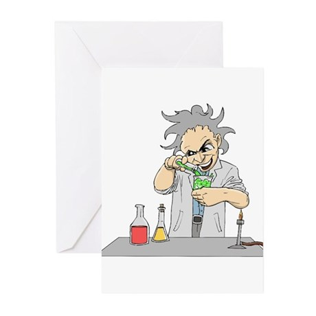 Mad Scientist Greeting Cards (Pk of 20)