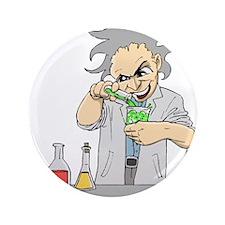 "Mad Scientist 3.5"" Button (100 pack)"