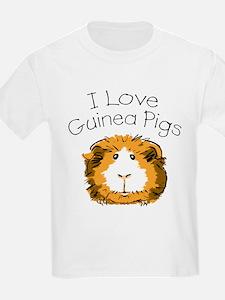I love guinea pigs Kids T-Shirt