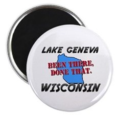lake geneva wisconsin - been there, done that Magn