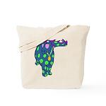 DotDinosaur Tote Bag