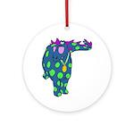 DotDinosaur Ornament (Round)
