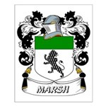 Marsh Coat of Arms Small Poster