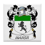 Marsh Coat of Arms Tile Coaster