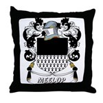 Meelop Coat of Arms Throw Pillow
