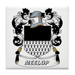 Meelop Coat of Arms Tile Coaster