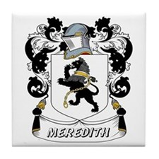 Meredith Coat of Arms Tile Coaster