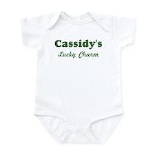 Cassidys Lucky Charm Infant Bodysuit