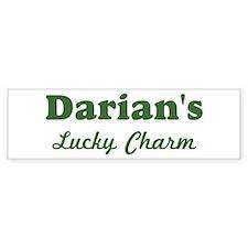 Darians Lucky Charm Bumper Bumper Sticker