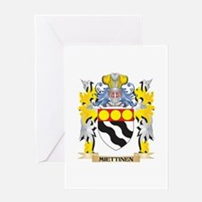 Miettinen Coat of Arms - Family Cre Greeting Cards