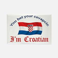 Croatian Cevapcic 2 Rectangle Magnet