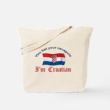 Croatian Cevapcic 2 Tote Bag