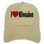 I Love Milwaukee Wisconsin Cap