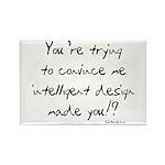 Intelligent Design Parody Rectangle Magnet