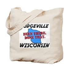 dodgeville wisconsin - been there, done that Tote