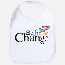 Gandhi - Change - Butterfly Bib