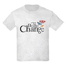 Gandhi - Change - Butterfly T-Shirt