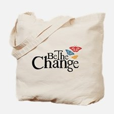 Gandhi - Change - Butterfly Tote Bag