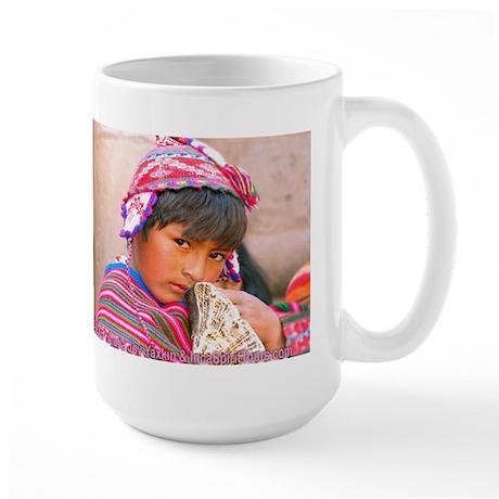 A Boy's Eyes - Large Mug