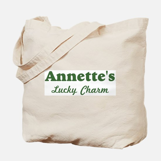 Annettes Lucky Charm Tote Bag