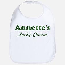 Annettes Lucky Charm Bib