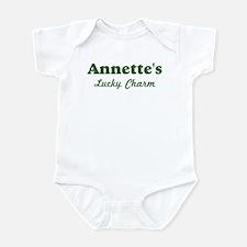 Annettes Lucky Charm Infant Bodysuit