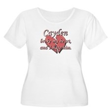 Cayden broke my heart and I hate him T-Shirt