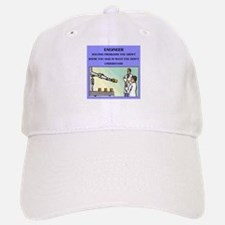 engineer engineering joke Baseball Baseball Cap