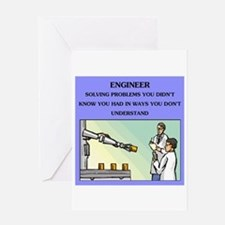 Engineer Engineering Joke Card Greeting Cards