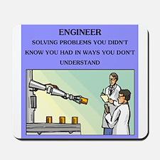 engineer engineering joke Mousepad