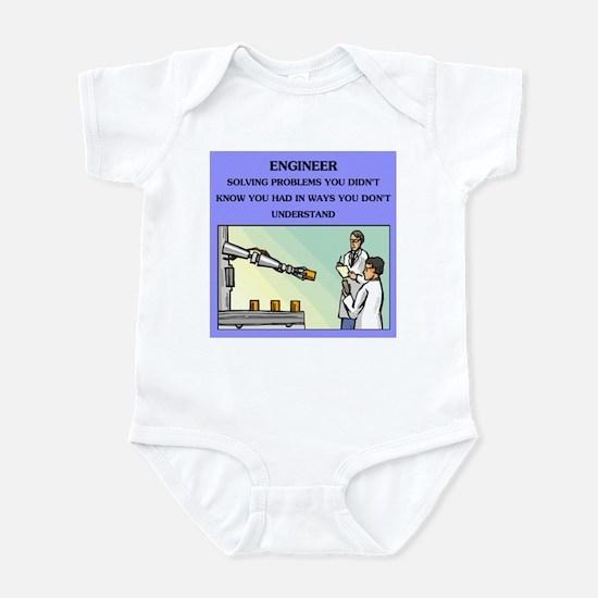 engineer engineering joke Infant Bodysuit