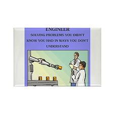 engineer engineering joke Rectangle Magnet