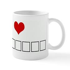 I Love БЕР& Mug