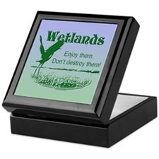 Wetland Conservation Keepsake Box