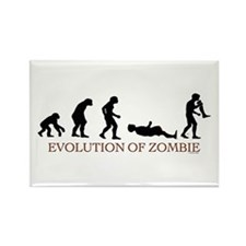 Evolution of Zombie Rectangle Magnet