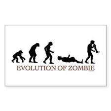 Evolution of Zombie Rectangle Decal