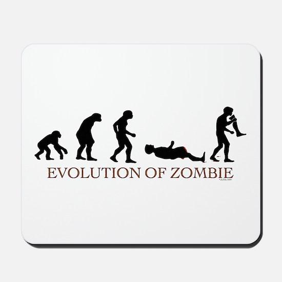 Evolution of Zombie Mousepad