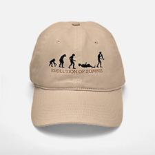 Evolution of Zombie Baseball Baseball Cap