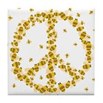 Give Bees a Chance Tile Coaster
