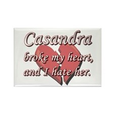 Casandra broke my heart and I hate her Rectangle M