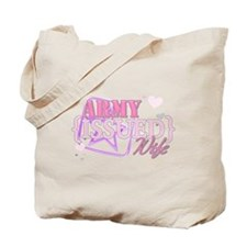 Army Issued Wife Tote Bag