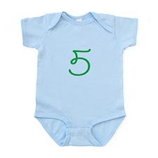 Age 5 (5th Birthday) Infant Bodysuit