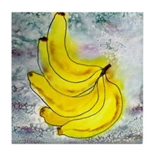 Bannana Fruit Art Tile Coaster