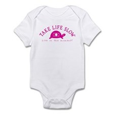 TLS Pink Turtle, Infant Bodysuit