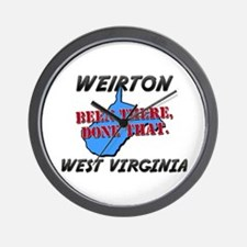 weirton west virginia - been there, done that Wall