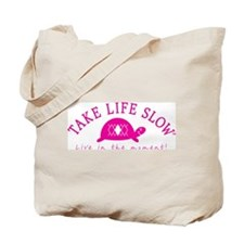 TLS Pink Turtle, Tote Bag