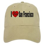 I Love San Francisco Cap