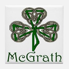 McGrath Shamrock Tile Coaster