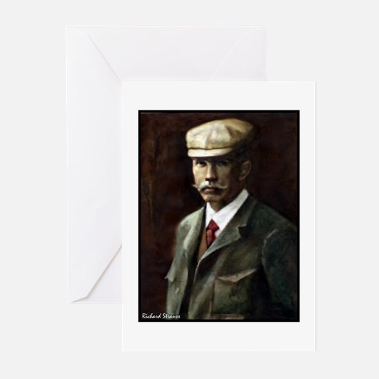 """Faces """"Strauss"""" Greeting Cards (Pk of 10)"""